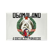 Obamaland Rectangle Magnet