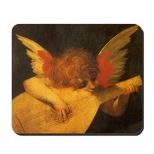 Musician Angel by Fiorentino Mousepad