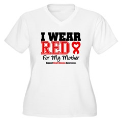 I Wear Red Mother T-Shirt
