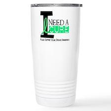 I Need A Cure CELIAC DISEASE Travel Mug
