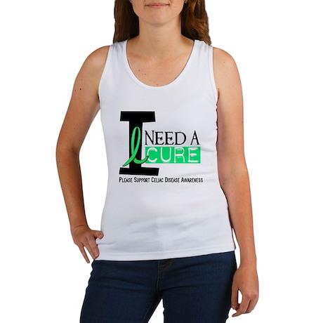 I Need A Cure CELIAC DISEASE Women's Tank Top