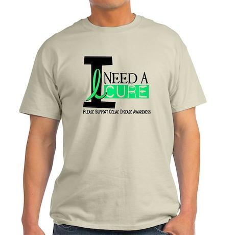I Need A Cure CELIAC DISEASE Light T-Shirt