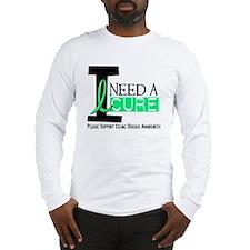 I Need A Cure CELIAC DISEASE Long Sleeve T-Shirt
