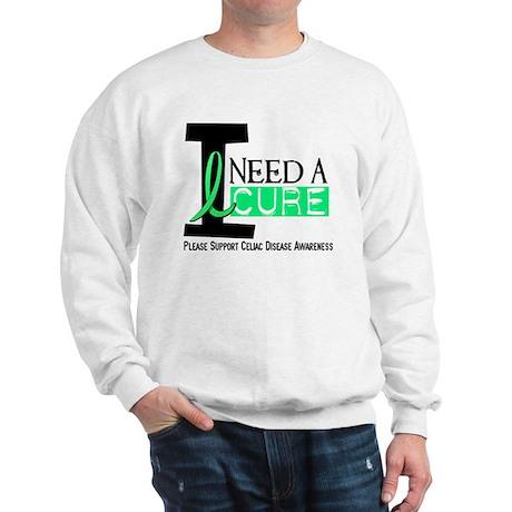 I Need A Cure CELIAC DISEASE Sweatshirt