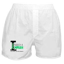 I Need A Cure CELIAC DISEASE Boxer Shorts