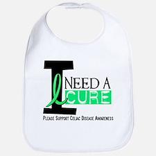 I Need A Cure CELIAC DISEASE Bib