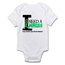 I Need A Cure CELIAC DISEASE Infant Bodysuit
