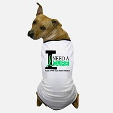 I Need A Cure CELIAC DISEASE Dog T-Shirt