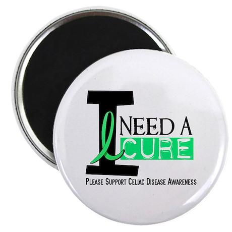 I Need A Cure CELIAC DISEASE Magnet