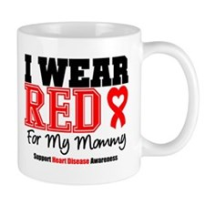 I Wear Red Mommy Mug