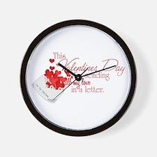 Love Letters (Seabee) Wall Clock
