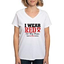 I Wear Red Mom Shirt