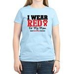 I Wear Red Mom Women's Light T-Shirt