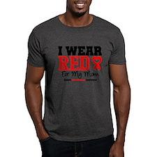 I Wear Red Mom T-Shirt