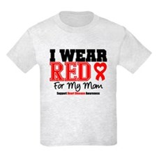I Wear Red Mom T-Shirt