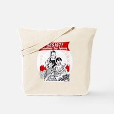 Resist Valentine Tyranny Tote Bag