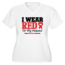 I Wear Red Husband T-Shirt