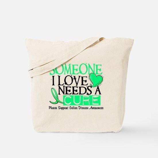 Needs A Cure CELIAC DISEASE Tote Bag