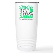 Needs A Cure CELIAC DISEASE Travel Mug