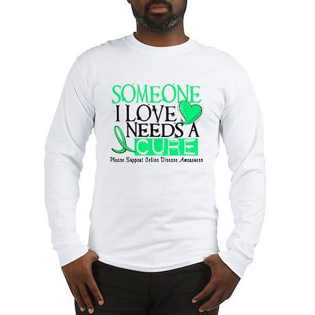 Needs A Cure CELIAC DISEASE Long Sleeve T-Shirt