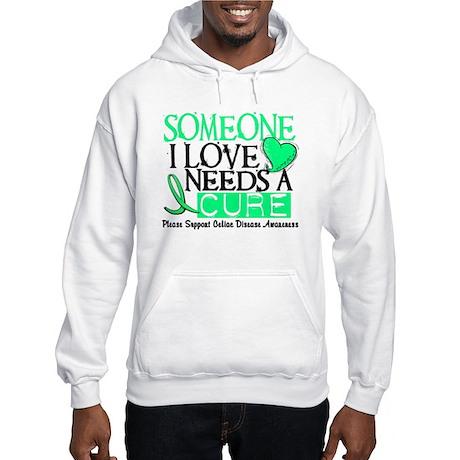 Needs A Cure CELIAC DISEASE Hooded Sweatshirt