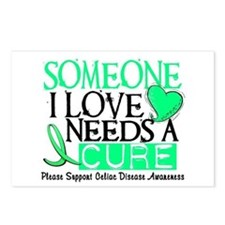 Needs A Cure CELIAC DISEASE Postcards (Package of