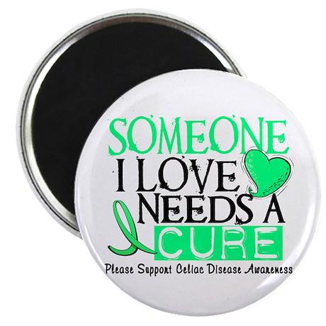Needs A Cure CELIAC DISEASE Magnet