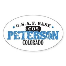 Peterson Air Force Base Oval Decal
