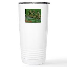 green rowers Travel Mug