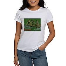 green rowers Tee
