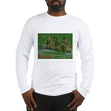 green rowers Long Sleeve T-Shirt