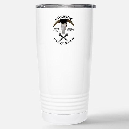 Anthology Poetry Slam Stainless Steel Travel Mug