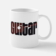 Acoustic Guitar Rust Mug