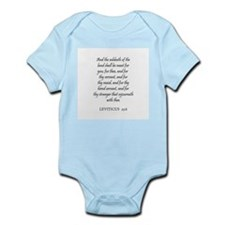 LEVITICUS  25:6 Infant Creeper