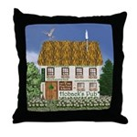 Hoback's Pub Throw Pillow