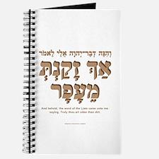 Older than Dirt (Hebrew f) Journal