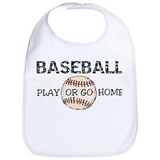 Play Or Go Home Bib