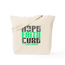 HOPE FAITH CURE Celiac Disease Tote Bag