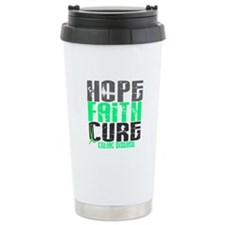 HOPE FAITH CURE Celiac Disease Travel Mug