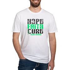 HOPE FAITH CURE Celiac Disease Shirt