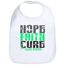 HOPE FAITH CURE Celiac Disease Bib