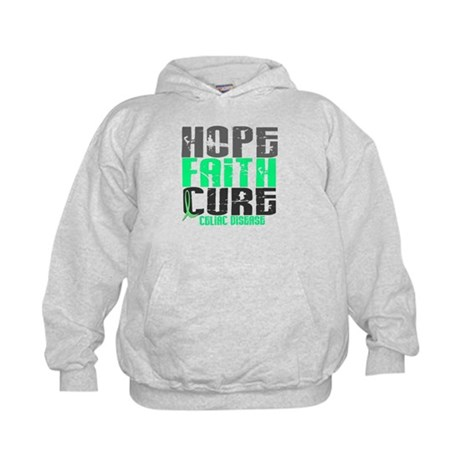 HOPE FAITH CURE Celiac Disease Kids Hoodie