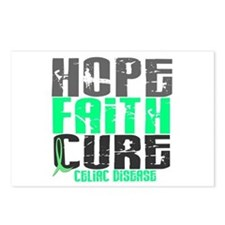 HOPE FAITH CURE Celiac Disease Postcards (Package