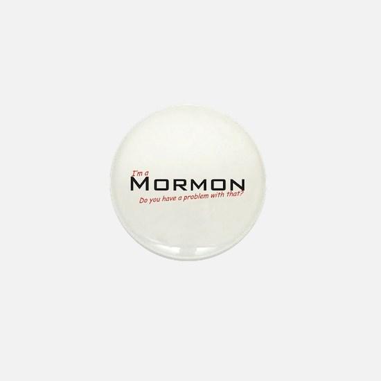 Mormon / Problem! Mini Button