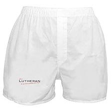 Lutheran / Problem! Boxer Shorts
