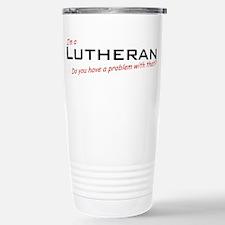 Lutheran / Problem! Travel Mug