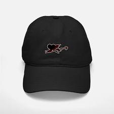 Ebony Heart Baseball Hat