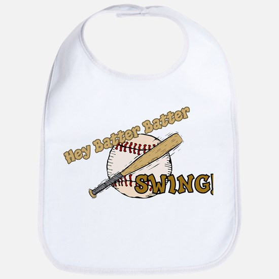 Hey Batter Batter Bib