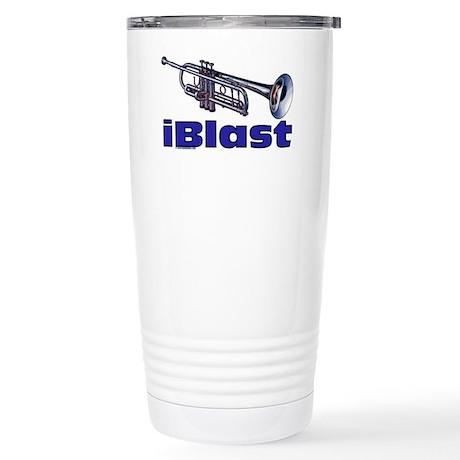 iBlast Stainless Steel Travel Mug