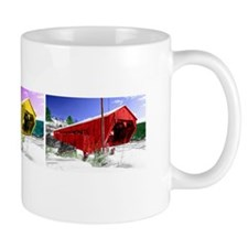Winter Covered Bridge Mug